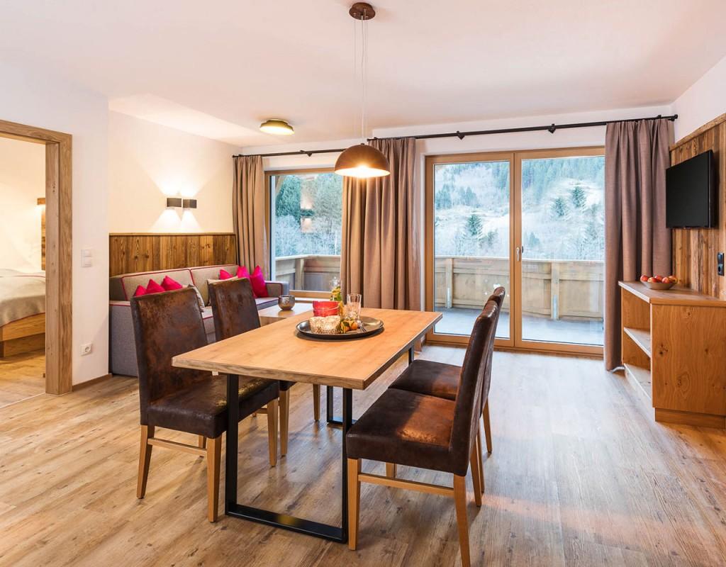 Ferienwohnung stoanmandl - Neustift im Stubaital - Wohnraum