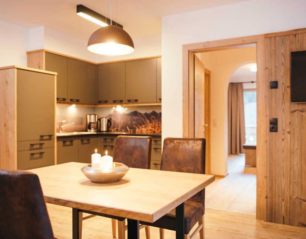 Ferienwohnung stoanmandl - Neustift im Stubaital - Küche