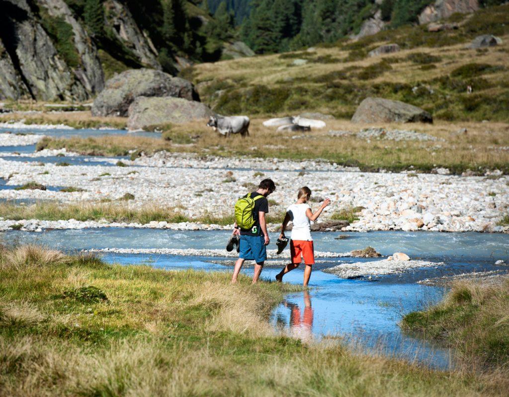 Ferienwohnung stoanmandl - Neustift im Stubaital - Sommer wandern