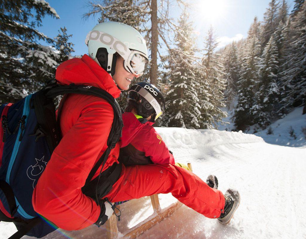 Ferienwohnung stoanmandl - Neustift im Stubaital - Winter rodeln